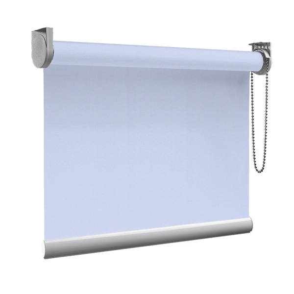 Afbeelding van Rolgordijn op maat goedkoop - Lichtblauw lucht Semi transparant