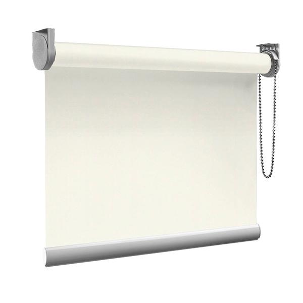 Afbeelding van Rolgordijn op maat goedkoop - Crème Semi transparant
