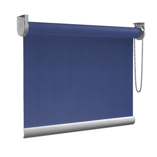 Afbeelding van Rolgordijn op maat goedkoop - Paarsblauw Semi transparant