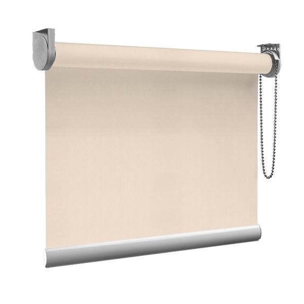 Afbeelding van Rolgordijn op maat goedkoop - Beige parel Semi transparant