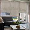 Afbeelding van Rolgordijn op maat goedkoop - Taupe-grijs Semi transparant