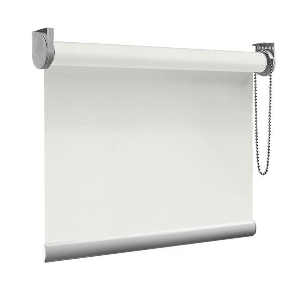 Afbeelding van Rolgordijn op maat goedkoop - Beige grijs Semi transparant