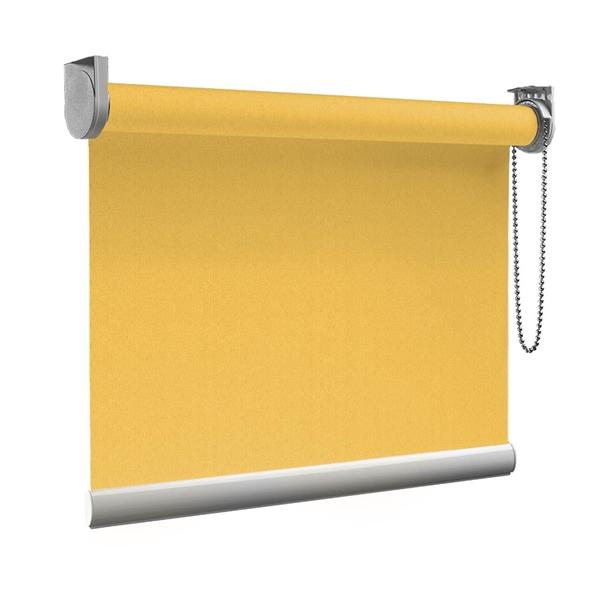Afbeelding van Rolgordijn op maat goedkoop - Oranje naranja Semi transparant