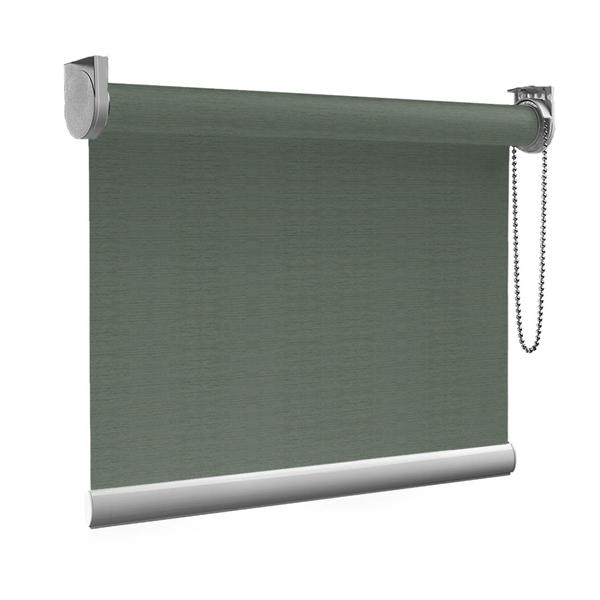 Afbeelding van Standaard Rolgordijn op maat - Glans multicolor grijs Transparant