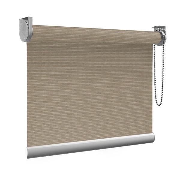 Afbeelding van Standaard Rolgordijn op maat - Luxe warmgroen Transparant