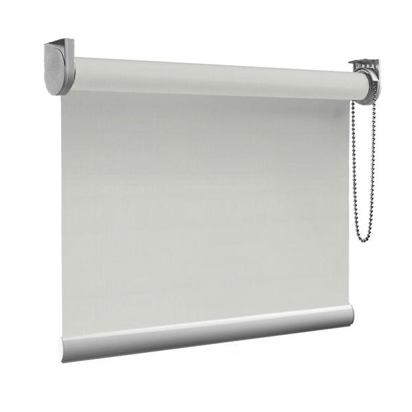 Afbeelding van Standaard Rolgordijn op maat - Beige creme fijn Transparant