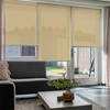 Afbeelding van Rolgordijn Breed Montagesteunen - Beige pastelgeel Semi transparant