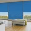 Afbeelding van Rolgordijn Breed Montagesteunen - Donkerblauw 70's look Semi transparant