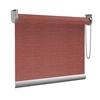 Afbeelding van Rolgordijn op maat Brede ramen - Glans rood Transparant
