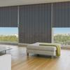 Afbeelding van Rolgordijn op maat Brede ramen - Antraciet Transparant