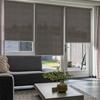 Afbeelding van Rolgordijn op maat Brede ramen - Antraciet licht Transparant