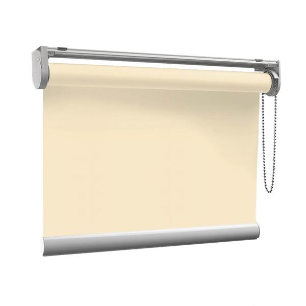 Afbeelding van Rolgordijn op maat met Montageprofiel - Creme beige Verduisterend