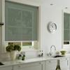 Afbeelding van Rolgordijn op maat Klik-en-klaar - Glans multicolor lichtgrijs Transparant