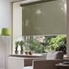 Afbeelding van Rolgordijn op maat Klik-en-klaar - Luxe olijfgroen Transparant