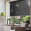 Afbeelding van Rolgordijn op maat Klik-en-klaar - Vintage zwart Transparant