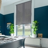 Afbeelding van Rolgordijn op maat Klik-en-klaar - Zilvergrijs Transparant